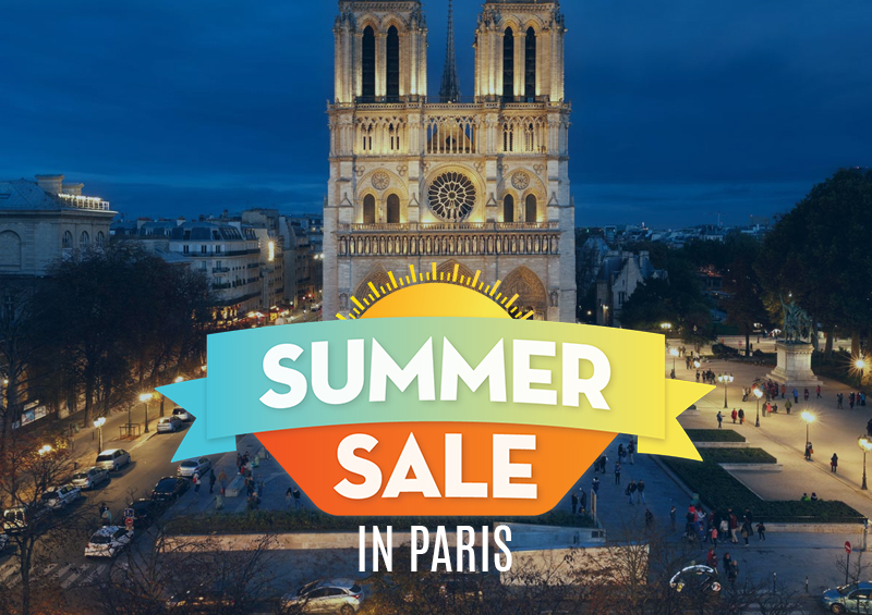 summer sale in paris