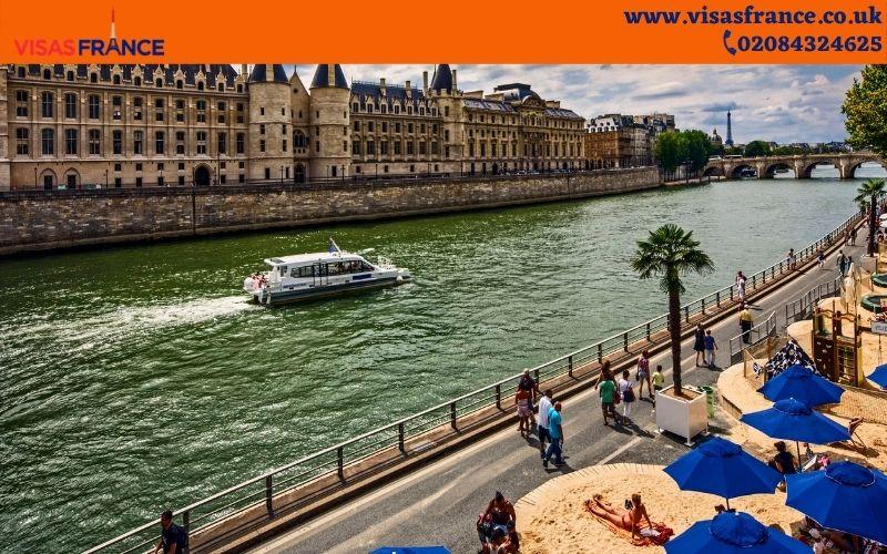 Visiting Paris in summer
